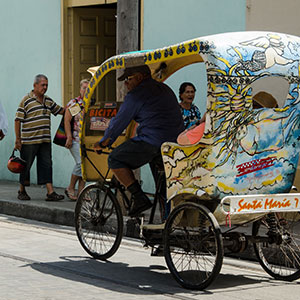 Camaguey City Tour by Bike-Taxi